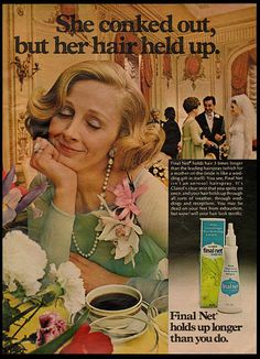 1973 Vintage Ad for Final Net Hair Spray (121511)