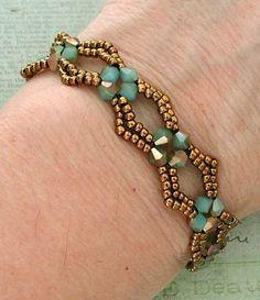 Linda's Crafty Inspirations: YouTube Tutorial - Diamond DIY Beaded Bracelet - Güzel sözler mekanı