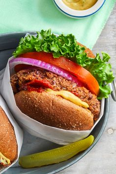 Sauce Barbecue, Barbecue Recipes, Grilling Recipes, Raw Food Recipes, Veggie Recipes, Vegetarian Recipes, Meatless Burgers, Vegan Burgers, Vegetarian Grilling