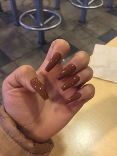 Mocha Nails nail designs designs for short nails 2019 best nail stickers nail art stickers how to apply nail art stickers online Aycrlic Nails, Dope Nails, Nails On Fleek, Hair And Nails, Coffin Nails, Nails 2016, Gorgeous Nails, Pretty Nails, Milky Nails