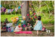 Flower Market inspired children Photography idea