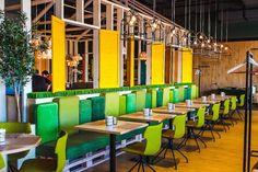 Green Villa Pizza Café by LEFT, Krasnoyarsk – Russia » Retail Design Blog