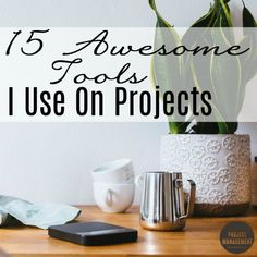 Everyone has their favourite tools that they return to time and time again. Here are my top 15: a mixture of software tools and lower tech tools that I use to get the job done on every project. Plus links to free project management templates!