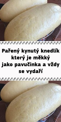 Czech Recipes, Hot Dog Buns, Baking Recipes, Bakery, Food And Drink, Menu, Bread, Dinner, Cooking