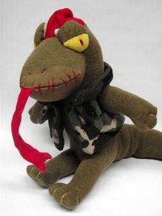 Zombie sock lizard!