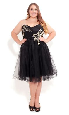 Beaded Tull Dress