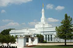 Oklahoma City Oklahoma Mormon Temple  We love Temples at: www.MormonFavorites.com