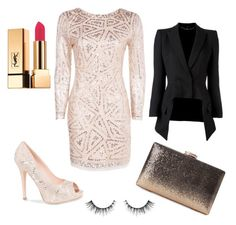 A beauty collage from December 2016 featuring moisturizing lipstick, hypoallergenic eye makeup and sequin handbags. Browse and shop related looks. Lorraine, Boohoo, Alexander Mcqueen, Yves Saint Laurent, Eye Makeup, Sequins, Polyvore, Shopping, Beauty
