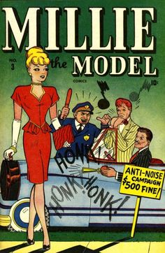 Millie the Model Vol 1 3 Vintage Comic Books, Vintage Comics, Old Comics, Marvel Comics, Millie The Model, Archie Comics Riverdale, Romantic Comics, Vintage Drawing, Vintage Art