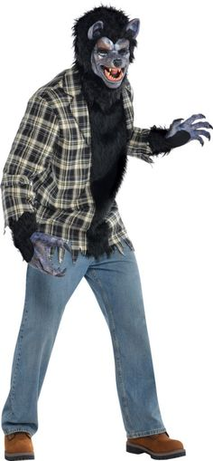 Adult Rabid Werewolf Costume - Party City