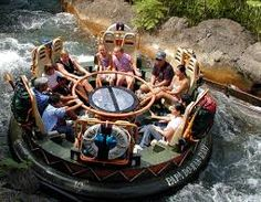 Kali River Rapids One And Only Time On It I Got Soakedpletely