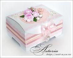 Un joli petit coffre coffret cadeau. Tuto en russe mais beaucoup de photos