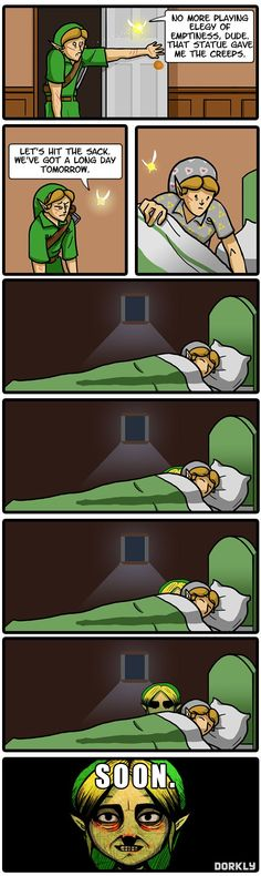 The Legend of Zelda: Majora's Creep - Dorkly Comic