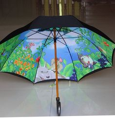 The Secret World of Hayao Miyazaki Umbrella. I want this umbrella so effin bad.