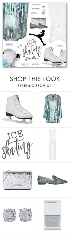 """""""#1177 Earned It, The Weeknd"""" by blendasantos ❤ liked on Polyvore featuring SkinCare, Caban Romantic, xO Design, Tufi Duek, Love Moschino, Pinko, Butter London and iceskatingoutfit"""