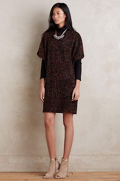 Esme Turtleneck Tunic Dress - anthropologie.com