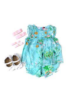Petit Look Summer Green: uma inspiração de Petit Look bem fresquinho e alegre para sua bebê!  http://www.nanapetit.com.br/petit-look-summer-green-p1080/