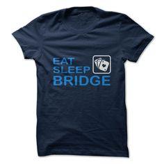 (Tshirt Coupons) Eat. Sleep. Bridge. [Tshirt Sunfrog] Hoodies, Funny Tee Shirts