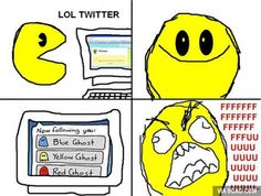 Pacman Joins Twitter
