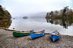 Canoe in England: Lake District From A Different Angle