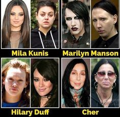 Stars without makeup makes you feel better about yourself Bad Plastic Surgeries, Plastic Surgery, Celebrity Memes, Celebrity Gossip, Adults Only Humor, Celebrities Before And After, Power Of Makeup, Goldie Hawn, Seriously Funny