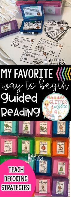 A great resource to teach students to decode unfamiliar words! It's a great warm up for guided reading! Includes seven decoding strategies and posters. Over 900 task cards! beanie baby decoding strategies, phonics, word work, kindergarten, first grade, second grade, reading, reading instruction, guided reading, task cards, intervention, reading intervention, craft boxes, task boxes