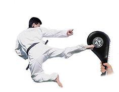Taekwondo Double Kick Pad Target Tae Kwon Karate Kickboxing Training Boy Youth