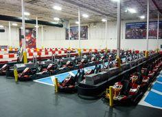K1 Speed. Indoor go karts.