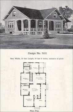 Design No. 7055  1908 Wilson & Girod Catalog by William A. Radford Co.