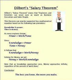 Salary theorem :-)