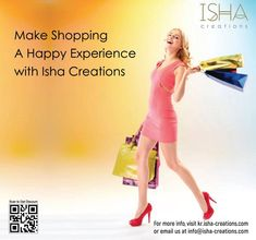 ISHA Creations is a community marketplace that empowers people to connect, both online and offline top selling products, brand new fashion & quality brand products. New Fashion, Fashion Online, Creation Homes, I Wan, Love To Shop, Happy, People, How To Make, Folk