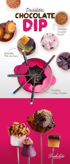 Daskalidès Chocolate Dip! #daskalides #fun #chocolate #crunch #food