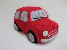 Classic Mini Cooper (inspired) Amigurumi Toy Car amigurumi crochet pattern by Millionbells
