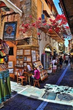 The Old Town of Rethymnon Crete Greece #greecetravel
