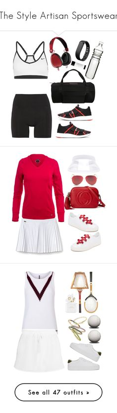 """""""The Style Artisan Sportswear"""" by thestyleartisan ❤ liked on Polyvore featuring NIKE, adidas, Dot & Bo, Lucas Hugh, Y-3, Fitbit, Skullcandy, gym, gymstyle and NewYearsResolutions"""