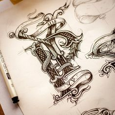 Lovely Sketch Collection on Instagram by Ink Ration