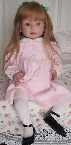 "Nancy's Lil Darlings Leontyne by Danielle Zweers 30"" Toddler Girl Reborn 