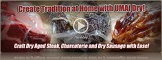 Dry Age and Dry Cure at Home bags. Works with most food vacum sealers