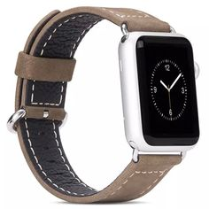Hoco Leather Strap Wrist Band Replacement Classic Buckle for Apple Watch