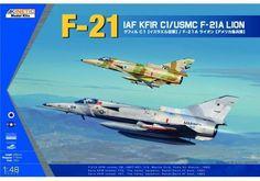 KINETIC 1/48 IAF KFIR C1 / USMC F-21A KIN48053 #Kinetic