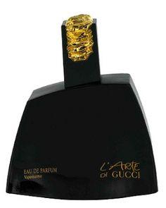 L'Arte di Gucci ..adventurous & sassy. Vivid red rose + inky black night, super cool.
