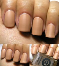 Nails Inc. Cadogan Square $9.50 (matted with Essie Matte About You)