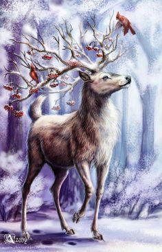 Winter Lord by Azany.deviantart.com on @deviantART