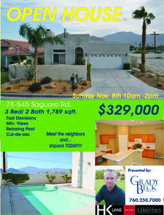 OPEN House... TODAY!!! Come and see this amazing home in established La Quinta community. It is guaranteed to please. Bring the family and invite your friends to this trusted neighborhood. Close to schools and houses of worship. It is a community to belong to. Nicely appointed. Step out to the backyard and prepare to refresh yourself on those hot afternoons or even a midnight dip in the pool. Present your offers quickly it is sure not to last.