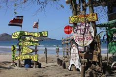 Brasilito, Costa Rica. Where the locals go to vacation!