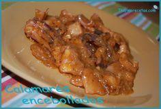 Calamares encebollados # Esta receta era la primera vez que la hacía y nos encantó a todos. Más bien nos supo a poco, pues leí este plato y me acordé de ello en la compra, pero como no …
