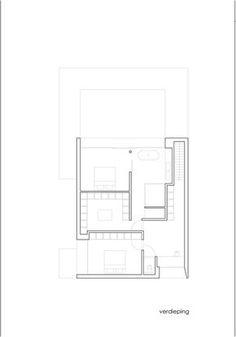 Lovely DE BAEDTS House / Architektuuburo Dirk Hulpia, Floor Plan 1