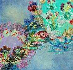 """Saatchi Online Artist Lia Porto; Painting, """"What happens in heaven?"""" #art"""