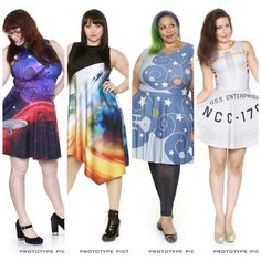 Anovos And Gold Bubble Partner On 'Star Trek' Fashion Dresses