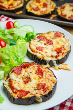 Healthy Eggplant Pizzas! | creativity through FOOD!